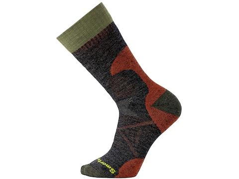 Smartwool Men's PhD Hunt Medium Crew Socks Merino Wool/Nylon