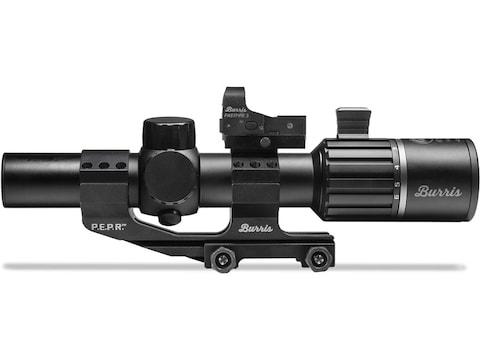 Burris RT6 Rifle Scope 30mm Tube 1-6x 24mm Illuminated Ballistic AR Reticle Matte with ...