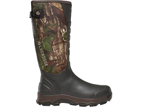 """LaCrosse 3.5mm 4XAlpha Snake Proof 16"""" Hunting Boots Hand-Laid Premium Rubber Over Neop..."""
