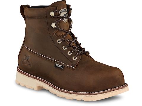 "Irish Setter Wingshooter ST 6"" Round Toe Non-Metallic Safety Toe Work Boots Leather Dar..."