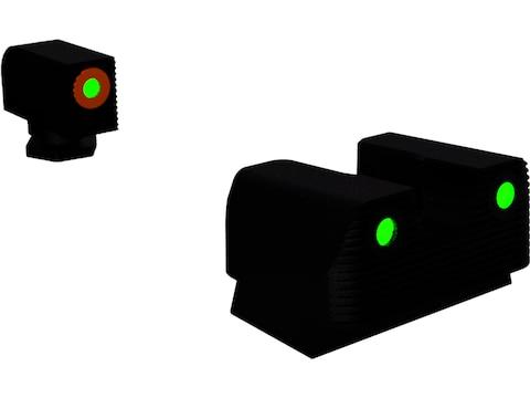 Rival Arms Night Sight Set Glock 42, 43 3-Dot Tritium Green