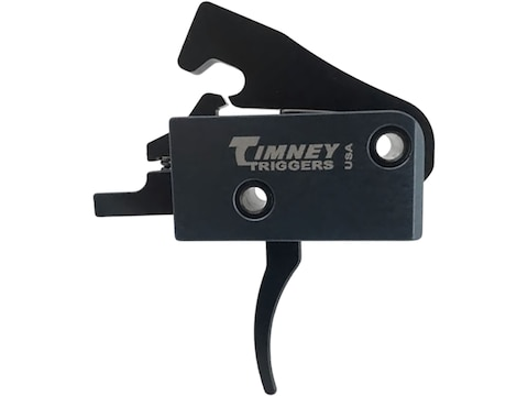 Timney Impact Trigger Group AR-15 3 lb Single Stage Curved Black