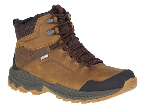 Merrell Forestbound Mid Hiking Boots Leather Men's