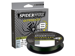 SpiderWire Ultracast Braided Fishing Line 4lb 164yd Moss Green
