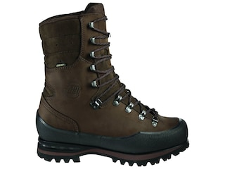 Hanwag Trapper Top GTX Hunting Boots Leather Brown Men's 9 D