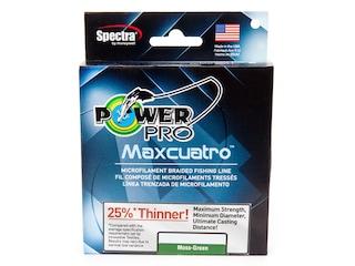 Power Pro Maxcuatro Braided Fishing Line 20lb150yd Green