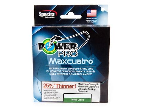 Power Pro Maxcuatro Braided Fishing Line