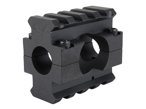 "DoubleStar Gas Block 2 Picatinny Rail AR-15, LR-308 Lightweight Barrel .625"" Inside Dia..."