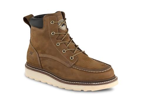 "Irish Setter Ashby 6"" Work Boots Leather Men's"