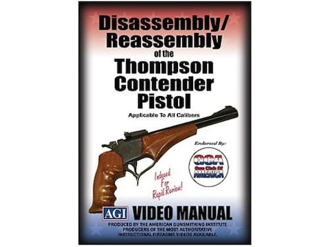 """American Gunsmithing Institute (AGI) Disassembly and Reassembly Course Video """"Thompson ..."""