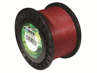 Power Pro Spectra Braided Fishing Line 5lb 150yd Vermillion Red