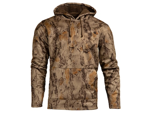 Natural Gear Men's Coral Fleece Softshell Hoodie Polyester