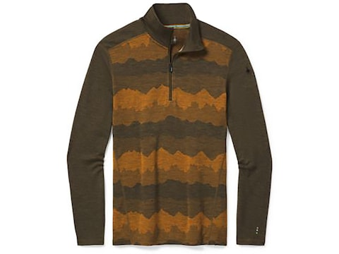 Smartwool Men's 250 Baselayer Pattern 1/4 Zip Shirt