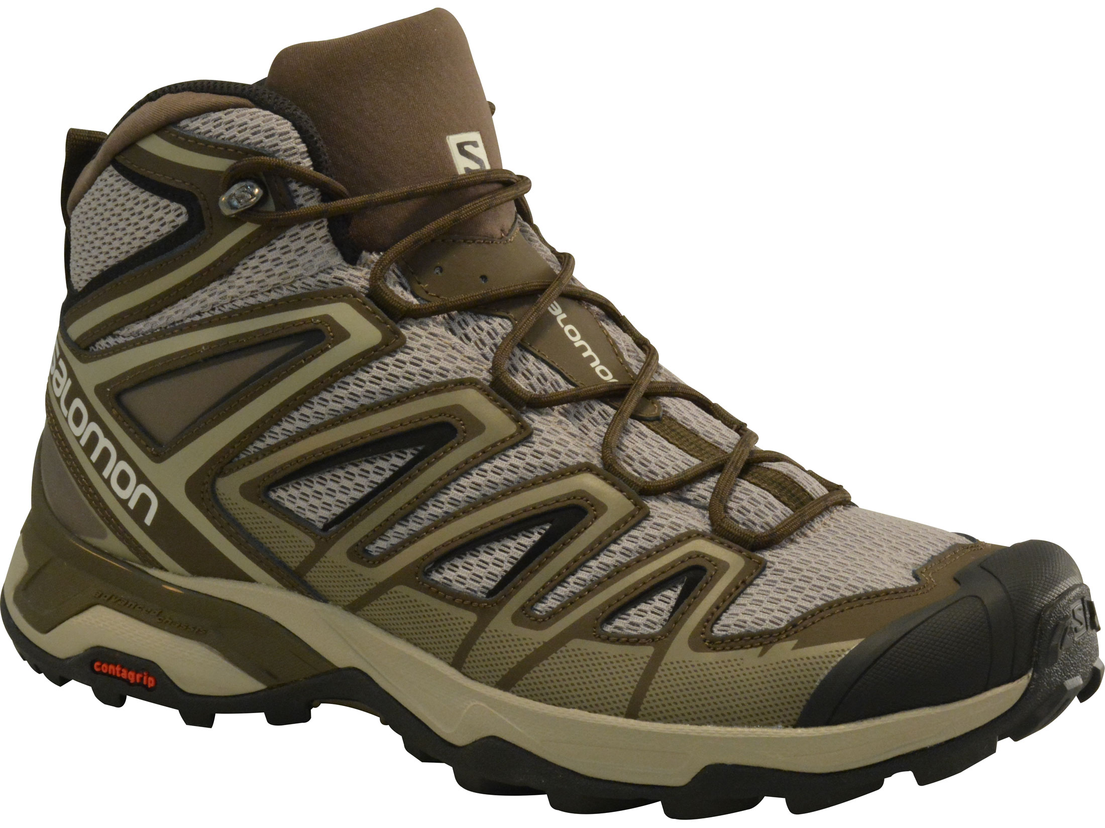 quality design 543c2 19bb3 Salomon X Ultra Mid 3 Aero 5 Hiking Boots Leather/Synthetic Vintage