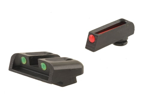TRUGLO Brite-Site Sight Set Glock 17, 17L, 19, 22, 23, 24, 26, 27, 33, 34, 35, 38, 39 G...