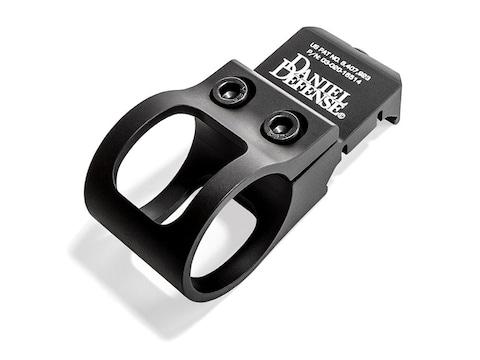 "Daniel Defense Offset Picatinny Rail Flashlight Mount 1"" Ring Diameter Aluminum Black"