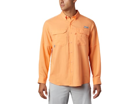 Columbia Men's PFG Blood and Guts III Button-Up Long Sleeve Shirt Polyester