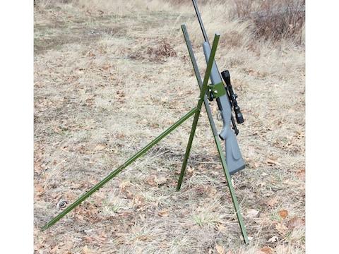 HySkore Vise Grip Tripod Shooting Sticks Green
