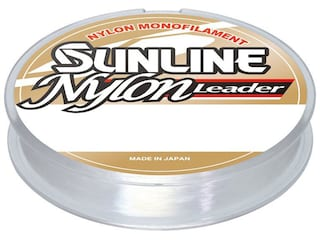 Sunline Nylon Leader Monofilament Fishing Line 8lb 50yd Clear