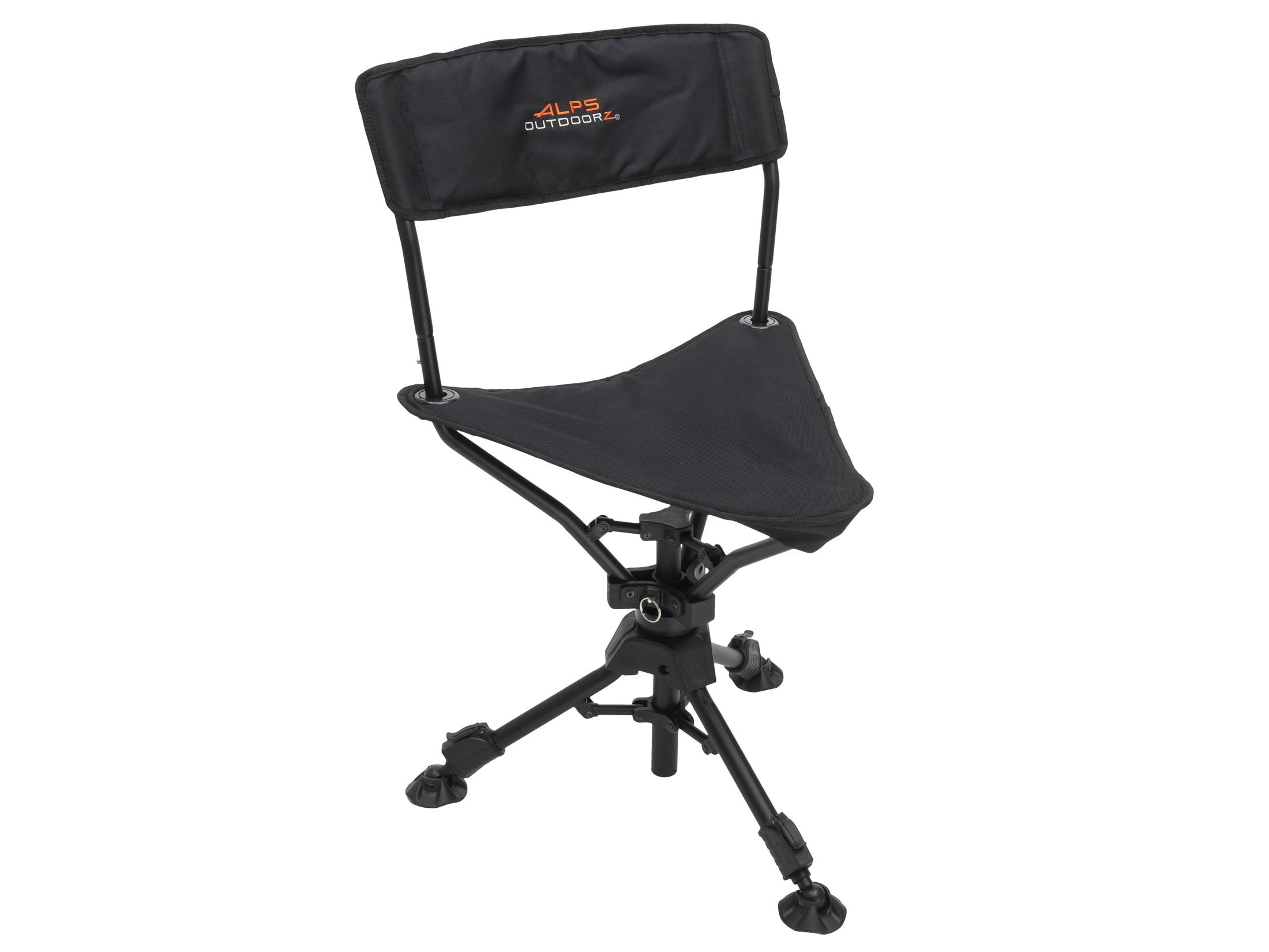 Incredible Alps Outdoorz Triad 360 Degree Tripod Chair Black Cjindustries Chair Design For Home Cjindustriesco