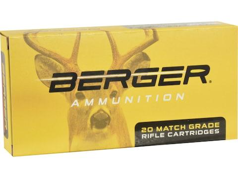 Berger Match Grade Ammunition 6.5 Creedmoor 135 Grain Classic Hunter Box of 20