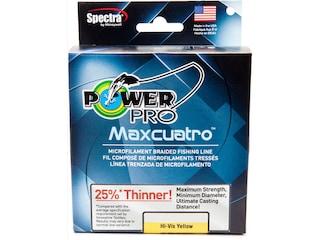 Power Pro Maxcuatro Braided Fishing Line 20lb 150yd Hi-Vis Yellow