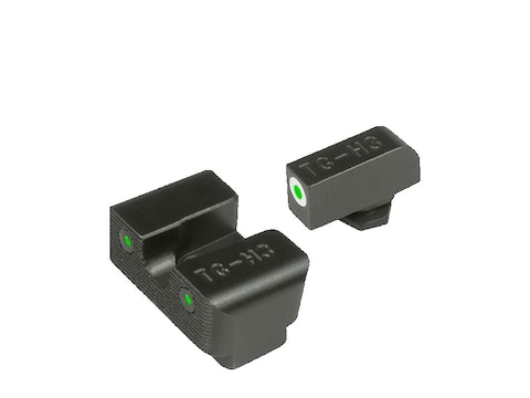 TRUGLO Tritium Pro Sight Set Glock 17, 17L, 19, 22, 23, 24, 26, 27, 33, 34, 35, 38, 39 ...