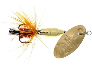 Panther Martin Deluxe Fly Inline Spinner Gold & Orange 1/32 oz