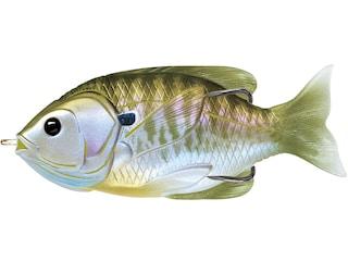 "LIVETARGET Sunfish Walking 3"" Topwater Natural/Olive Bluegill"