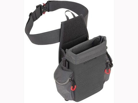 Allen Competitor All-in-One Shooting Bag with Belt and Quick Dump Hull Bag Black