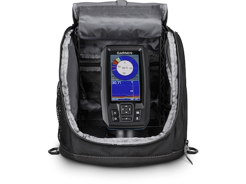 Garmin Striker Plus 4 Portable Ice Bundle Fish Finder