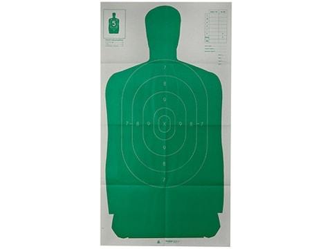 "Champion LE Target Green Silhouette Target B-27 FSA 24"" x 45"" Paper"