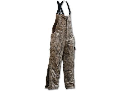 Natural Gear Mens Windproof Fleece Bibs Polyester