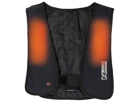 Mobile Warming Men's Thawdaddy BT Heated Vest Polyester Black