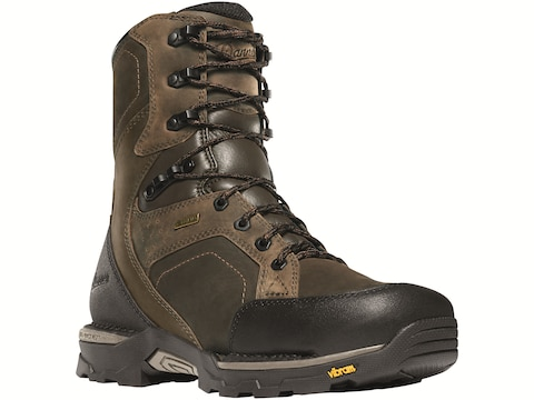 """Danner Crucial 8"""" Waterproof Non-Metallic Safety Toe Work Boots Leather Men's"""