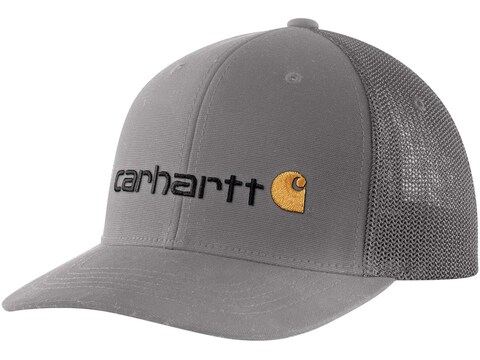 Carhartt Rugged Flex Logo Fitted Mesh-Back Cap