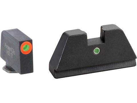Ameriglo XL I-Dot Suppressor Night Sight Set Glock 17, 19, 20, 21, 22, 23, 24, 26, 27, ...