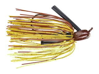 Strike King Rattlin Pro-Model Jig Green Crawfish 3/8 oz