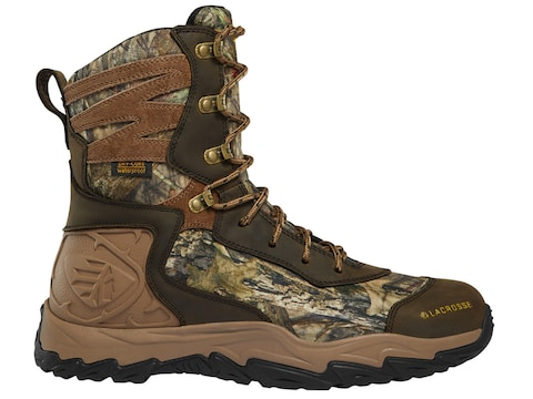"""LaCrosse Windrose 8"""" Insulated Hunting Boots Leather Men's"""