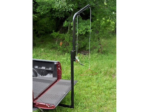 Viking Solutions Rack-Jack II Hitch Mounted Game Hoist Steel Black