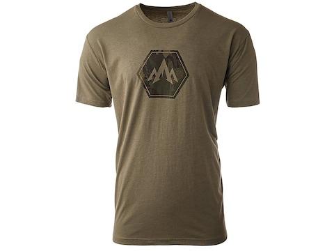 Pnuma Men's Lifestyle Camo Hex Short Sleeve T-Shirt