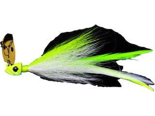 Picasso Aaron Martens Special FX Shock Blade Bladed Jig Chartreuse/White 3/8 oz