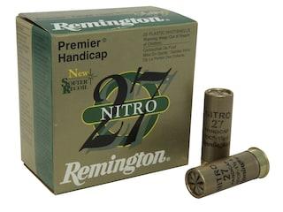 """Remington Premier Nitro 27 Gold Handicap Ammunition 12 Gauge 2-3/4"""" 1-1/8 oz #8 Shot Box of 25"""