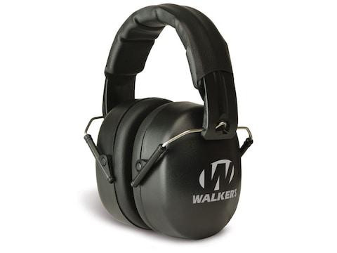 Walker's EXT Folding Range Earmuffs (NRR 30dB) Black