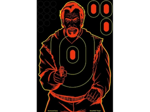 Birchwood Casey Shoot-N-C Bad Guy Sillhouette 12x18 Target