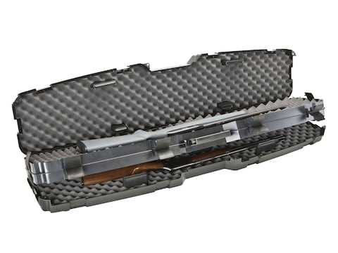 """Plano Protector Pro-Max Side-by-Side Double Scoped Rifle Case 53-7/8"""" Polymer Black"""