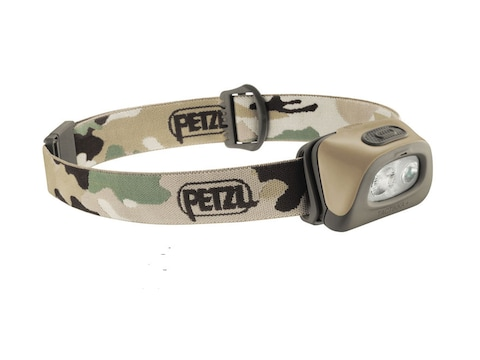 Petzl Tactikka + Headlamp LED with 3 AAA Batteries
