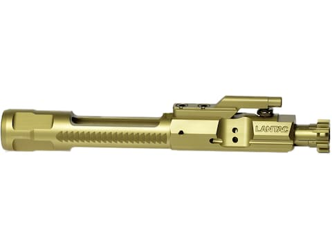 LANTAC E-BCG Enhanced Bolt Carrier Group AR-15 223 Remington, 5.56x45mm Titanium Nitride