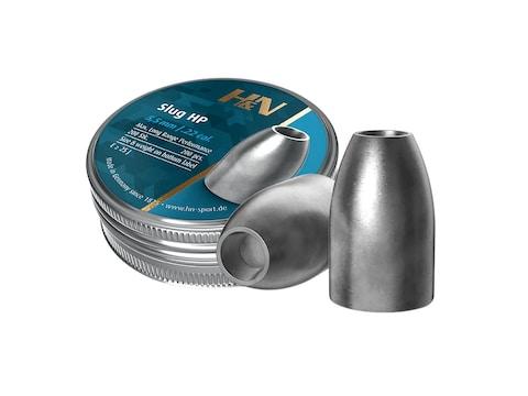 H&N Slug Air Gun Pellets 22 Caliber Hollow Point Tin of 205