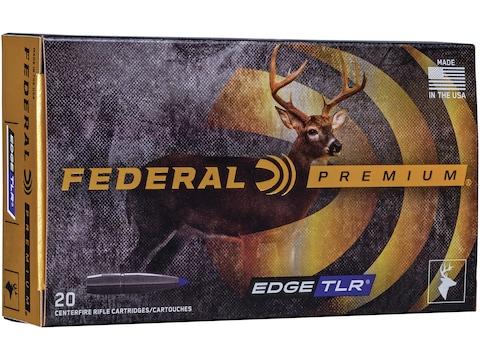 Federal Premium Edge TLR Ammunition 30-06 Springfield 175 Grain Polymer Tipped Bonded B...